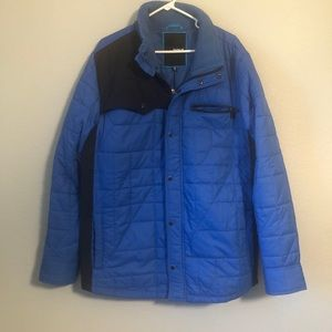 Hurley blue quilted jacket